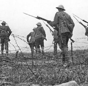 Britische-Infanterie-1916-an-der-Somme