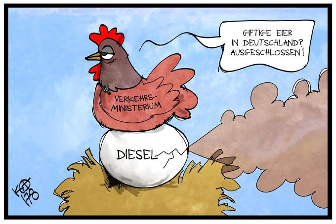 Diesel-Eier