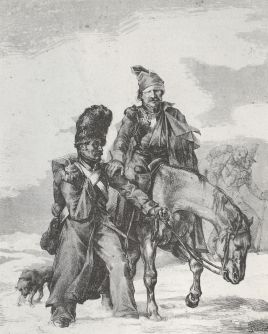 Gericault_Theodore_1818_Rueckkehr_aus_Russland